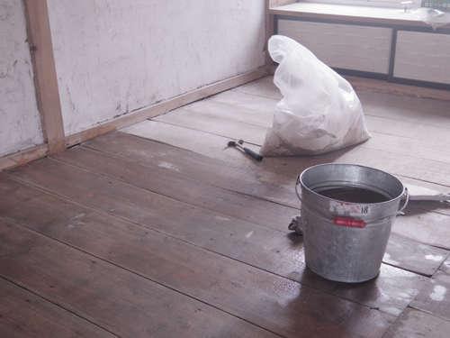 床掃除 ぞうきんがけ