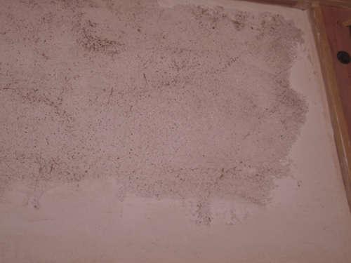 漆喰塗り パテ塗り