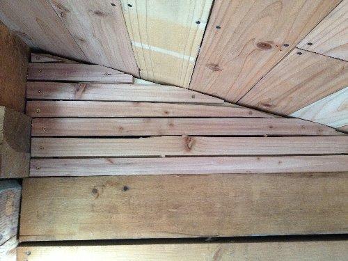 木摺り骨組み