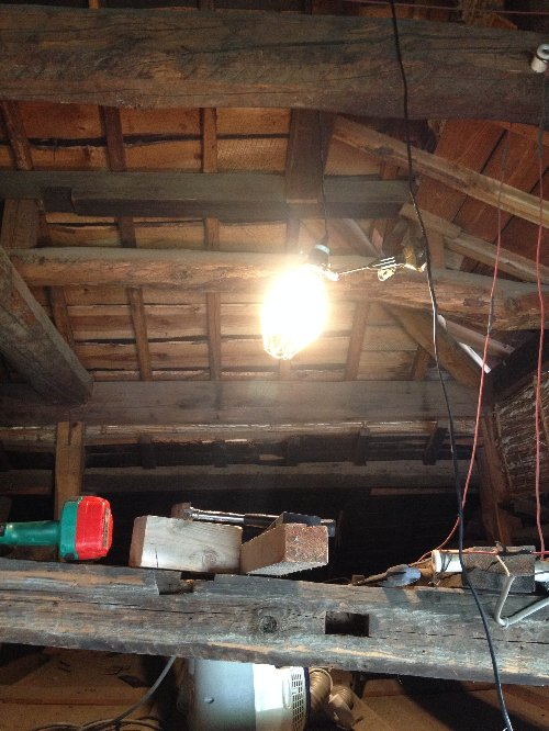 工事用ライトを購入です